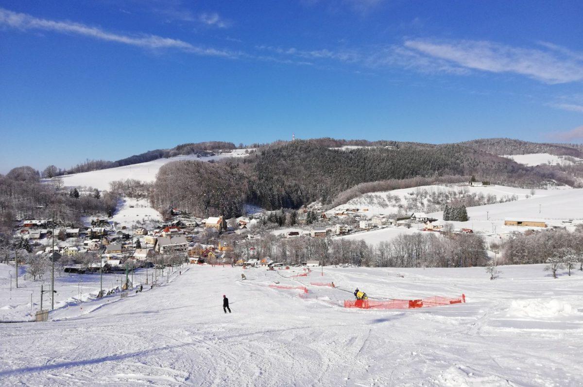Alpské lyžování porusavsku