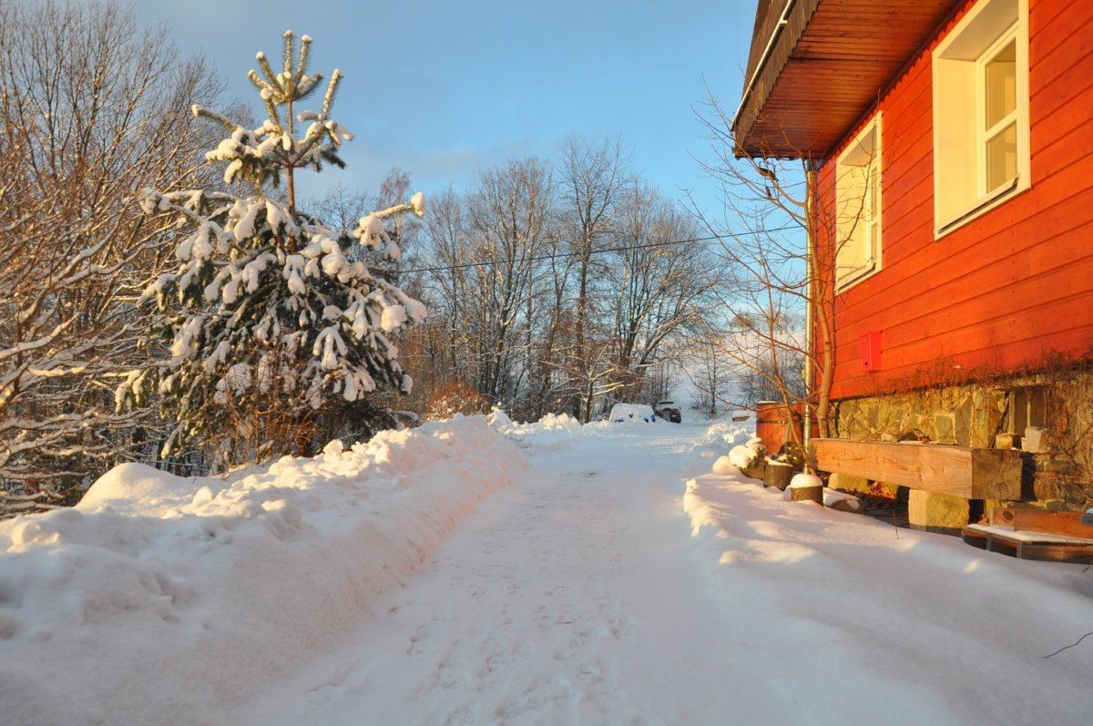 Zima v centru Pod Pardusem