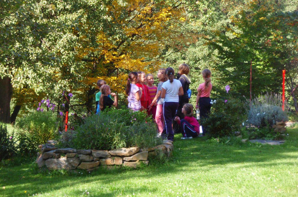 Děti v přírodě Mezinárodní Montessori ZŠ Perličlka, Brno
