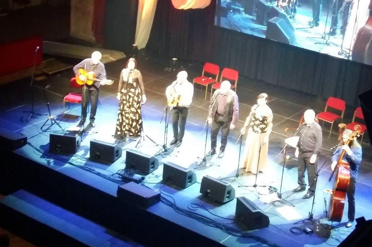 Spirituál kvintet standing ovation 16.4.2020