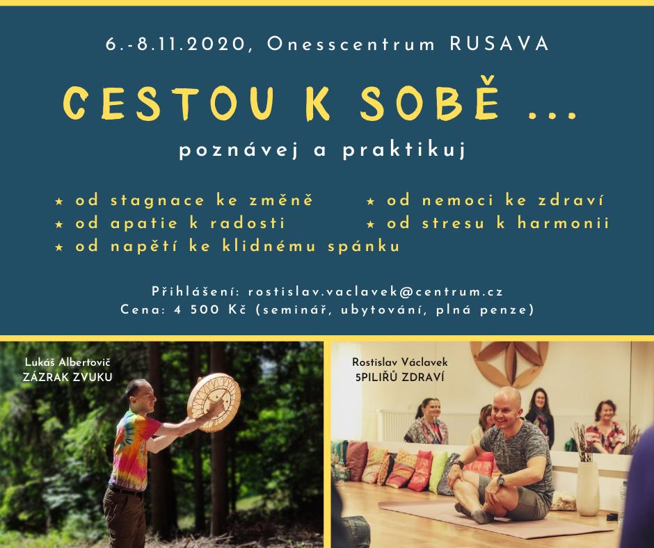 Cestouksobe – Rusava listopad 2020